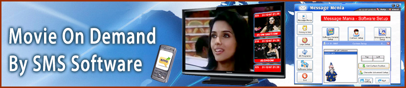 Movie on Demand by SMS